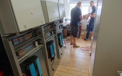 Building Battery Test Stations