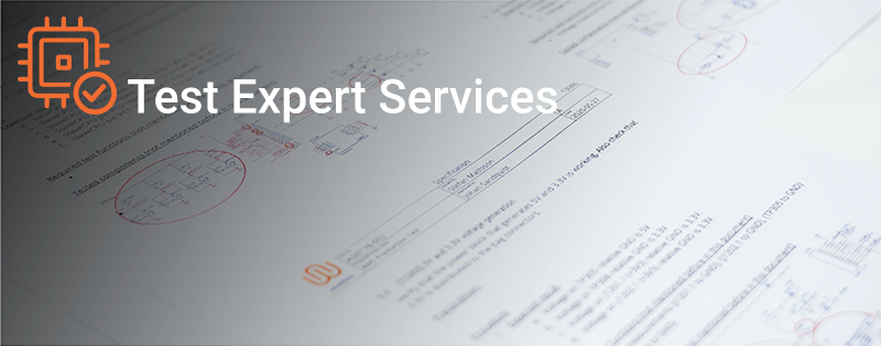 Test Expert Services header