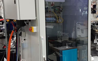 "WireFlow EV-battery production-testing ""Hallen""."